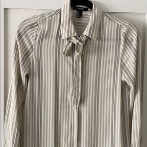 Tunic dress stripped forever 21